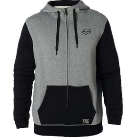 Fox Win Mob Zip Fleece Jacket Men heather graphite